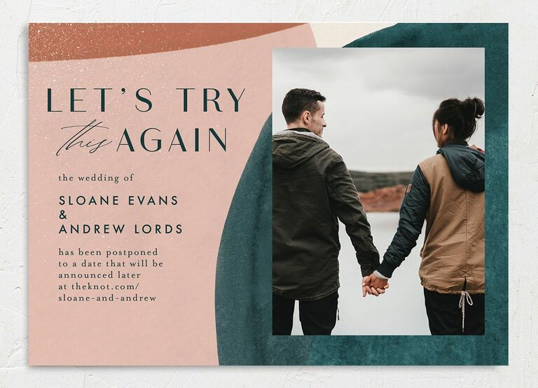 change the date funny the knot wedding trends